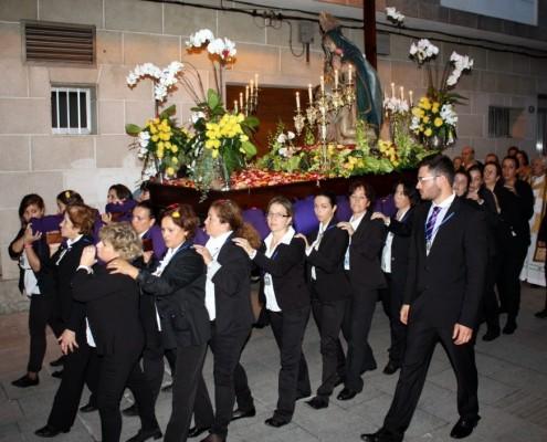 procesion de la virgen de las angustias