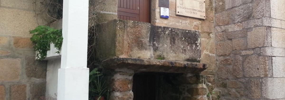Casa Museo Ramón Cabanillas Vista Lateral