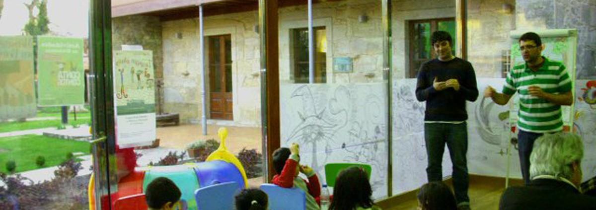 Casa dos Fraga - Biblioteca