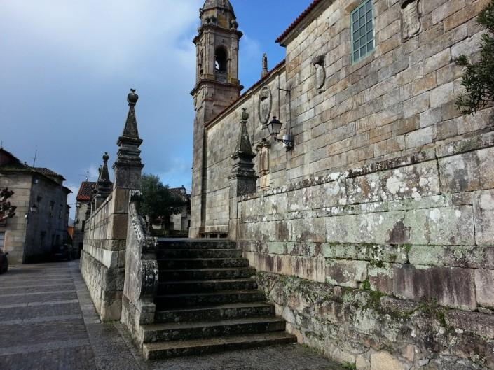 Igrexa de San Bieito - Entrada