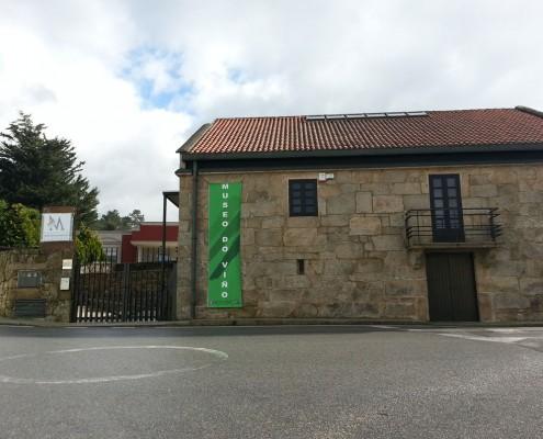 Entrada principal Museo del Vino de Cambados