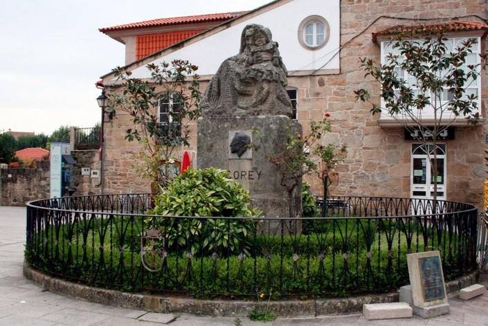 Plaza de Asorey Cambados