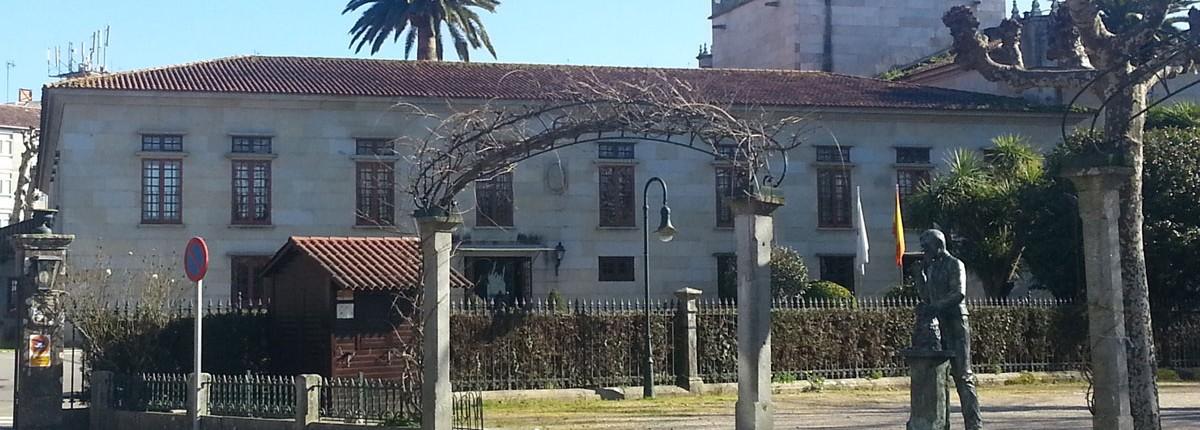 Plaza de la Calzada en Cambados