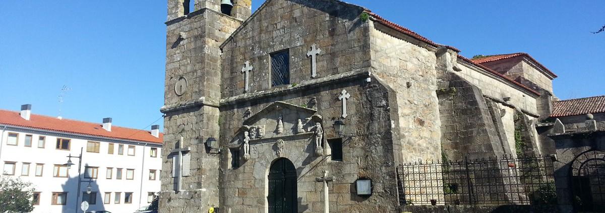 Lateral Iglesia Parroquial Cambados