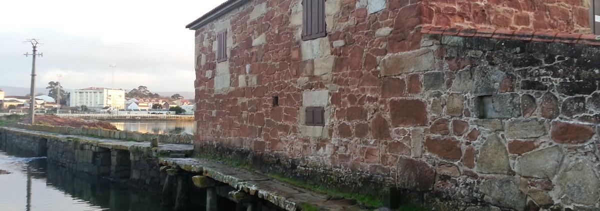 Pasarela Lateral del Museo Molino de Mareas de A Seca