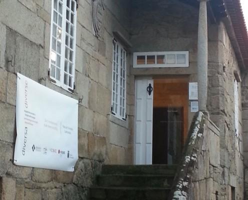 Pazo Torrado Escaleras de entrada