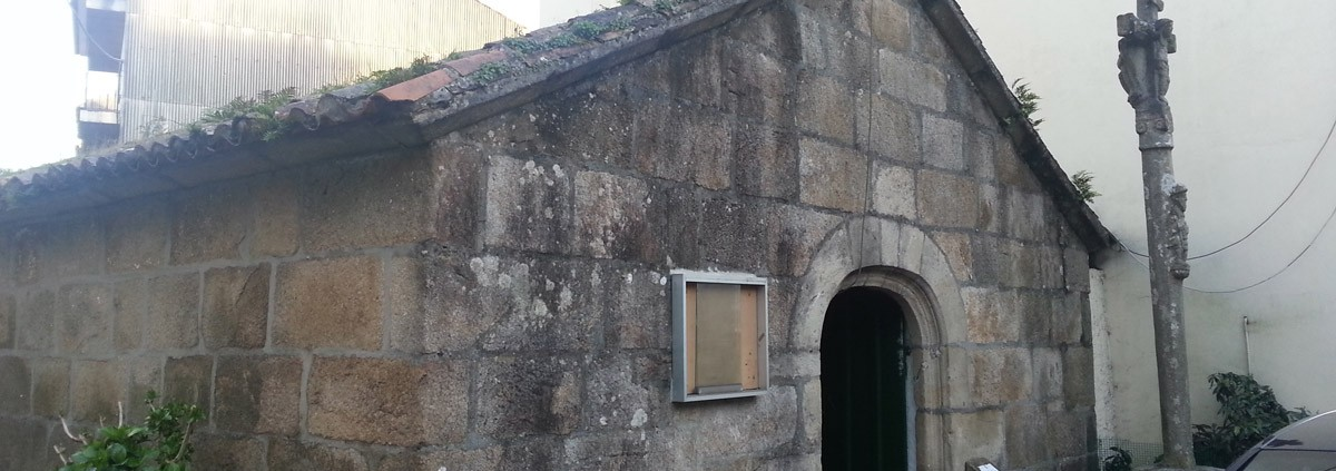 Capela de Santa Margarida Vista desde el Lateral