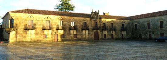 Plaza de Fefiñanes en Cambados