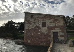 Ruta en bicicleta por Cambados - Museo Molino de Mareas de A Seca