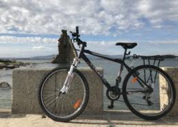 Ruta en bicicleta por Cambados