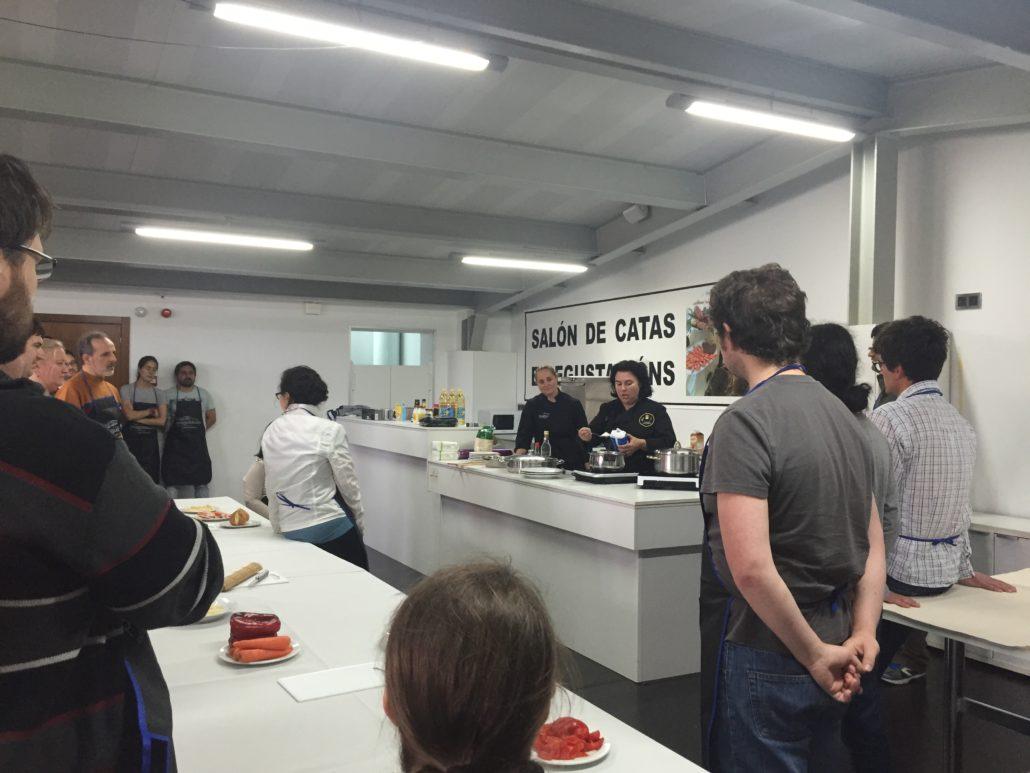 Taller de cocina turismo cambados for Taller de cocina teruel