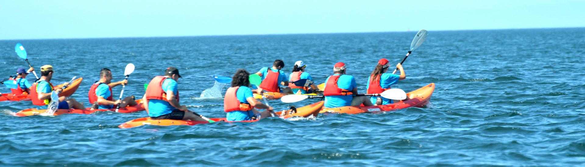 Kayak en Cambados